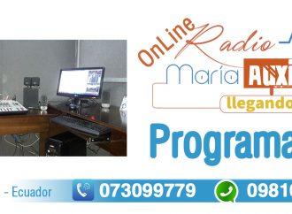 Programación de Radio María Auxiliadora